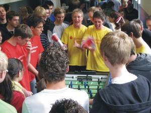 Kindergeburstag_Feier_Tischfussball hannover Krökelbar