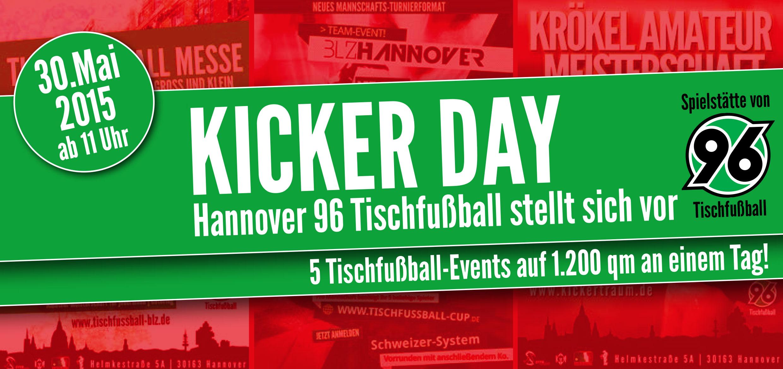 Kicker Day - Hannover 96 Tischfußball stellt sich vor