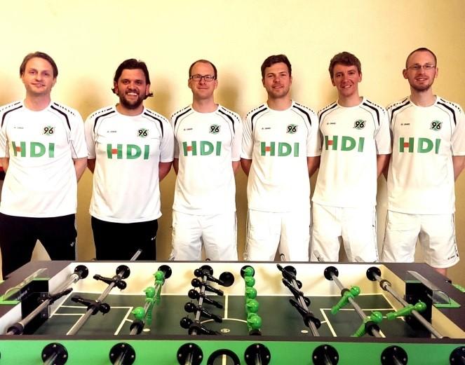 Hannover spielt im neuen Gewand und in alter Stärke