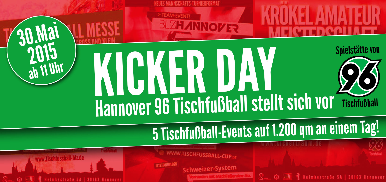 Kicker-Day am 30. Mai im BLZ