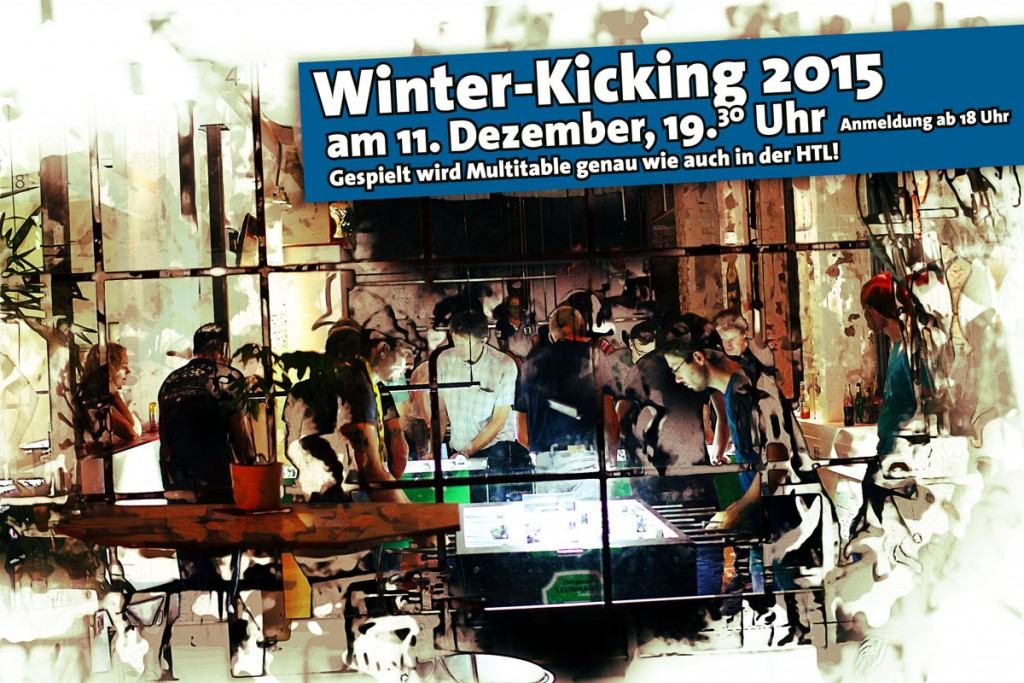 Winterkicking 2015 in der Krökelbar